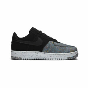 Nike Mens Air Force 1 Low Crater Black Photon Dust CZ1524 002 AUTHENTIC NEW $128.88