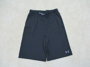 Under Armour Shorts Youth Extra Large Boy Black Basketball Athletic Kids Boys $18.88