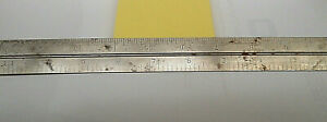 Vintage Sears Craftsman 12quot; Machinist Metal Ruler SS 9 3960 Double $16.99
