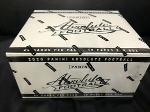 2020 Panini Absolute Football Jumbo Fat Pack Box. Brand New Factory Sealed Box