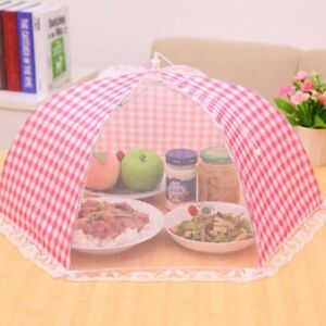 Food Umbrella Cover Fly Mosquito Mesh Screen Net for Picnic BBQ Kitchen.`