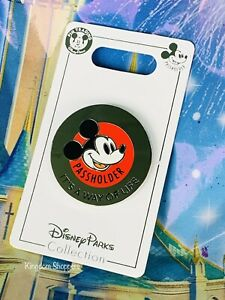 2021 New Disney Parks Passholder Pin Mickey Mouse It's A Way Of Life OE $19.95