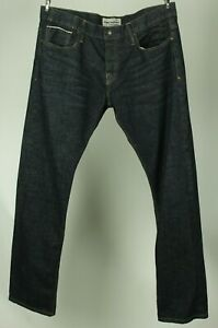 Jimmy Taverniti Mens Button Fly Dark Wash Jeans Tag Size 38 Measuring 39 $25.00