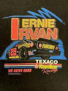 Vintage Ernie Irvan Nascar T Shirt 1994 Sz XL Single Stitch 90s