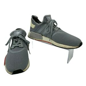 Adidas Running Shoes Mens Size 9.5 NMD R1 Light Onyx Gray Athletic S79160 $37.94