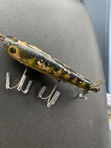 Vintage Tackle Dalton Special Tampa Wooden Fishing Lure Barracuda Spinner