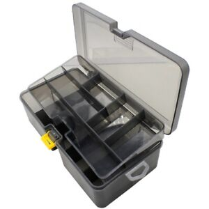 Double Layer Fishing Tackle Box Lures Bait Storage Case Organizer Container