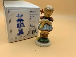 Hummel Figurine 255 4 0 Two Right Left 3 5 16in 1 Choice Boxed Top Condition $49.40