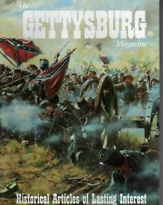3 issues of The Gettysburg Magazine Issues 7 11 17. All Fine $12.97