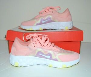 Nike Womens Renew Lucent Running Shoes Bleached Coral BQ4152 600 Size US 7.5 $59.99