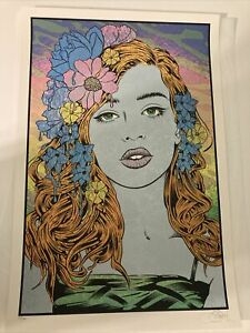 The Oracle by Chuck Sperry Screen print Poster Signed and Numbered of 150 $750.00