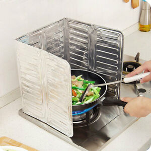 Cooking Frying Oil Splash Screen Cover Anti Splatter C1A5 Shield Guard M5C3 C $8.45