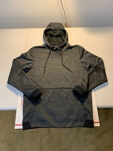 Men's Under Armour Cold Gear Hoodie Sweatshirt Size S Gray $19.99