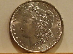 1889 MORGAN $GREAT EYE APPEALSILVER IS ALMOST DOUBLE FROM A YR AGO90% SILVER $40.00