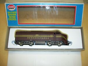 Model Power HO Pennsylvania Baldwin Shark Nose Dummy Diesel #5772 Unused in Box $19.99