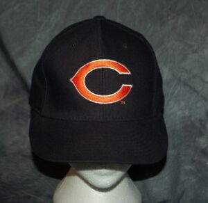 Chicago Bears Vintage New Era Hat Pro Model WOOL Size 7 NFL Fitted Hat