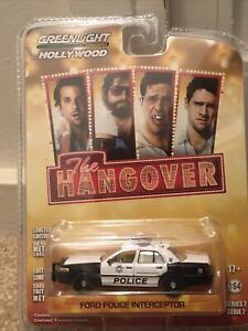 GREENLIGHT HOLLYWOOD SERIES 7 THE HANGOVER FORD POLICE INTERCEPTOR