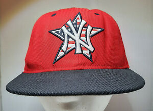 NY Yankees New Era 59 Fifty Authentic Official On Field Fitted Hat Cap 7 1 4 $16.00