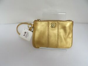 Coach Small Wallet Gold