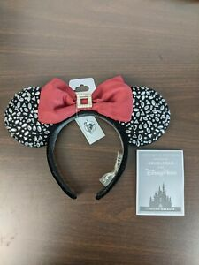 Disney Designer Minnie Mouse Ears By BaubleBar Limited Release New In Hand $99.95