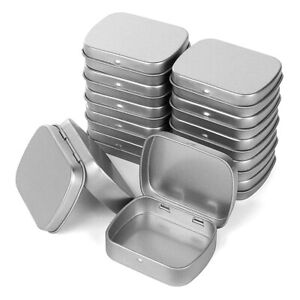 Metal Containers 12 Pack Metal Tin Box Mini Portable Box Containers for Ding $14.71