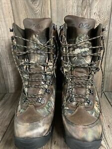 Cabela#x27;s Inferno Insulated Waterproof Hunting Boots for Men Brown TrueTimber