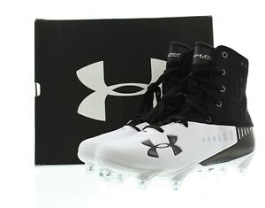 Under Armour Football Cleats Mens Highlight Select Shoes Black White 3019928 $29.99