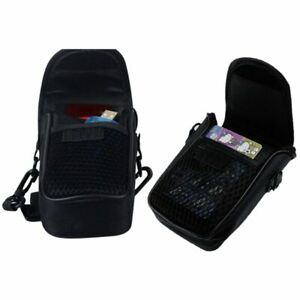 Camera Bags Case Compact Camera Case Soft Universal Bag Pouch with Strap Black