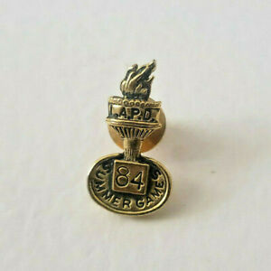 LAPD Lapel Pin Pin Back Summer Games 1984 Olympic Games in Los Angeles $19.50