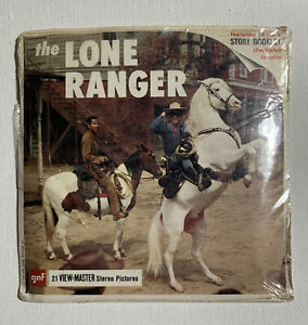 View Master THE LONE RANGER B465 3 Reel Set Booklet 1 $17.50