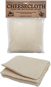 Kitchen Cheese Cloth Ultra Fine Grade Unbleached Natural Cotton Linen Fabric 9FT $13.99