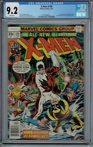 CGC 9.2 X MEN #109 1ST APPEARANCE OF WEAPON ALPHA JOHN BYRNE ART WHITE PAGES $289.99