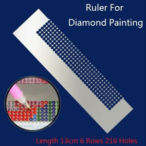 Stainless Steel Patchwork Embroidery DIY Sewing Stitch Diamond Painting Ruler $9.87