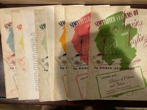 Old Sewing Instruction Manuals 8 Simplified Systems of Sewing Doris Anderson $20.00