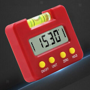 Stainless Steel Mini Digital Inclinometer Angle Finder Digital Protractor $15.13