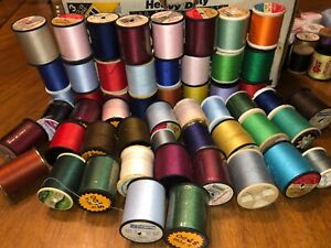 53 Vintage Sewing Thread Spools Various Makers amp; Sizes Craft new amp; used $14.99