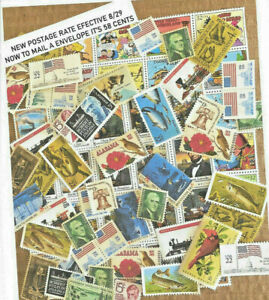 US MINT POSTAGE STAMPS at a DISCOUNT $17.40. POSTAGE for only $13.65