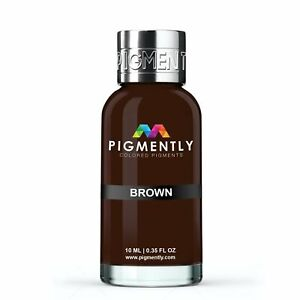 Brown Liquid Epoxy Pigment Resin Dye Premium PIGMENTLY Colors Free Shipping $5.00