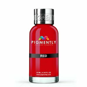 Red Liquid Epoxy Pigment Resin Dye Premium PIGMENTLY Colors Free Shipping $5.00