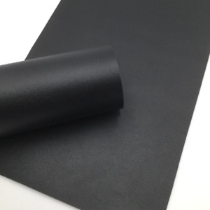 BLACK Smooth Faux Leather Sheets Faux Leather Sheets Leather for Earrings $2.99