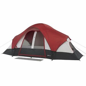 Ozark Trail 8 Person Modified Dome Tent with Rear Window Outdoor Sporting Goods