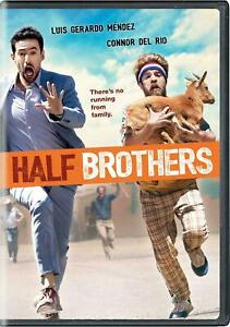 HALF BROTHERS: Comedy DVD Luis G Mendez Connor Del Rio WITH SLIPCOVER SEALED $13.50