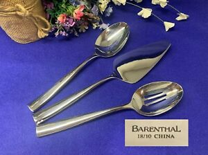 Barenthal COUTURE MIRROR High Gloss 3pc Serving Set Beautiful Used Condition