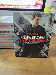 Mission: Impossible 6 Movie Collection Blu ray Digital Code BRAND NEW $27.00