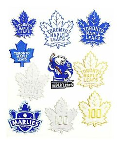 Toronto Maple LeafsMALIES Hockey Patches Logos Iron onSewing on Clothes $2.99