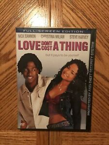Love Dont Cost A Thing DVD Brand New Sealed $12.50