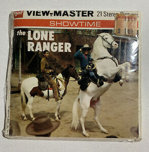 *NEW SEALED* View Master THE LONE RANGER Packet #B465 Booklet 2 $32.00