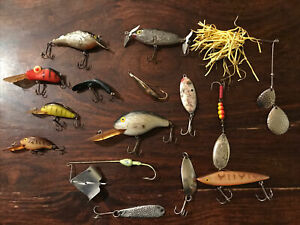 Lot of 15 Used Fishing Lures