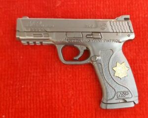 CALIFORNIA HIGHWAY PATROL SW MP40 PISTOL COIN ELA CHP LAPD POLICE NOT NYPD $17.50