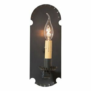 Apothecary Sconce in Kettle Black